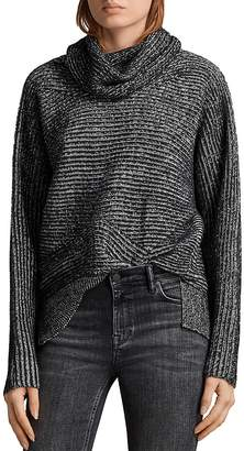 AllSaints Mesa Cowl-Neck Sweater