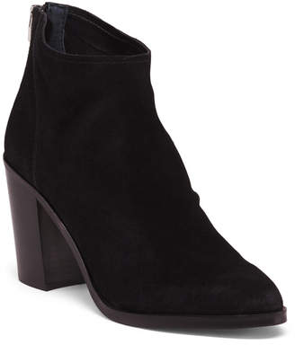 Dolce Vita Suede Stacked Heel Ankle Booties