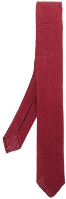 Salvatore Ferragamo woven tie