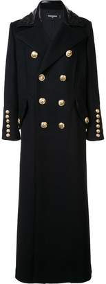 DSQUARED2 oversized double-breasted coat