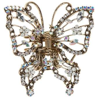 Tasha Crystal Embellished Butterfly Jaw Clip