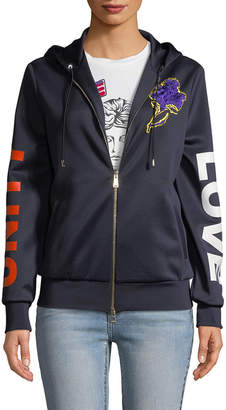 Versace Patch Embroidery Hoodie