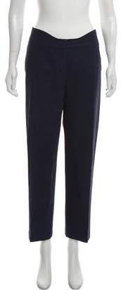 Agnona High-Rise Straight-Leg Pants