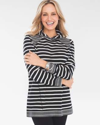 Zenergy Mixed-Stripe Tunic