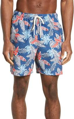 Tommy Bahama Naples Faded Palms Classic Fit Swim Trunks
