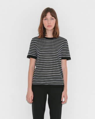 Alexander Wang Stripe Short Sleeve Tee