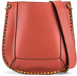 cff96811cb5 Isabel Marant Oskan Shoulder Bag in Rosewood | FWRD