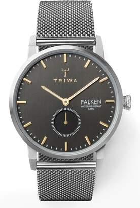 Triwa Smoky Falken Mesh Strap Watch, 38mm