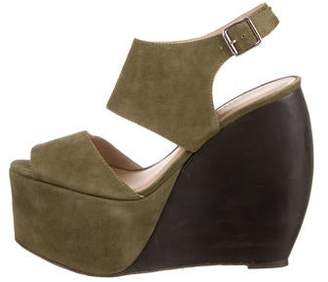 Loeffler Randall x Suno Platform Wedge Sandals