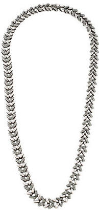 Giles & Brother Crystal Chain Necklace $125 thestylecure.com
