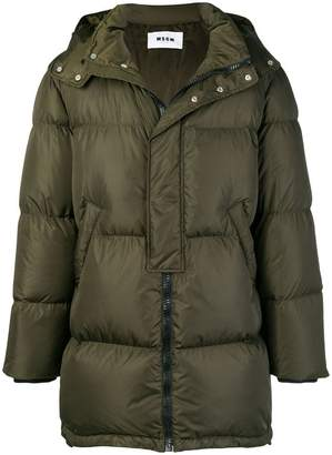 MSGM oversized padded jacket