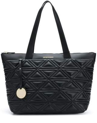 Emporio Armani quilted shoulder bag