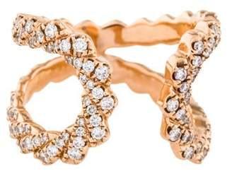 Dana Rebecca Designs 14K Diamond Open Ring