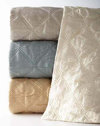 Fino Lino Linen & Lace European Quattro Sham