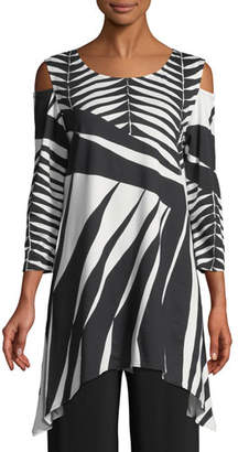 Caroline Rose Gone Wild Graphic Tunic