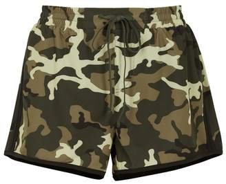 The Upside Camouflage Shell Shorts