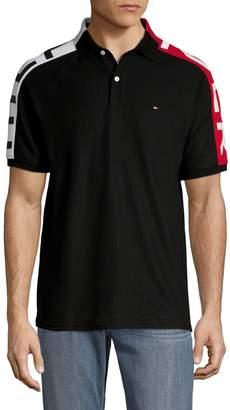 Tommy Hilfiger Logo Colourblock Cotton Polo