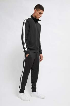 French Connenction Vintage Track Sweat Zip Jacket