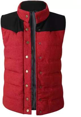 Goodnight Macaroon 'Indira' Button Front Down Vest Jacket (3 Colors)