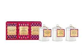 Mini A Ture Glasshouse Fragrances Christmas Miniature Candle Trio (3 x 60G)
