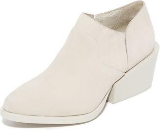 DKNY Lynn Low Cut Wedge Booties $328 thestylecure.com
