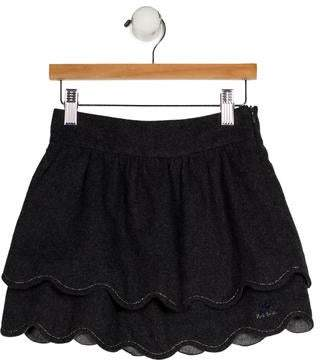 Paul Smith Girls' Tiered A-Line Skirt