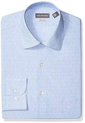 Van Heusen Men's Dress Shirt Regular Fit Stripe
