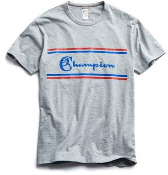 15f45e94 Todd Snyder + Champion Champion Chest Graphic T-Shirt in Light Grey Mix