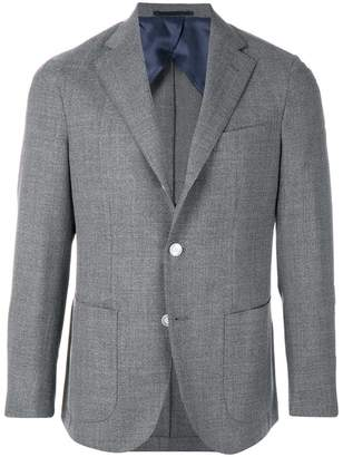 Barba fitted button up blazer