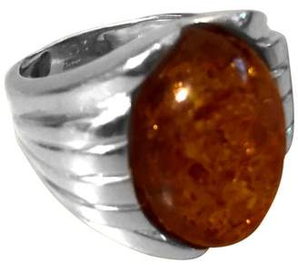 Ross-Simons 18K Yellow Gold Amber Ring Size 5