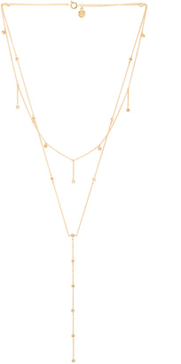 gorjana Candice Shimmer Layered Lariat Necklace $75 thestylecure.com