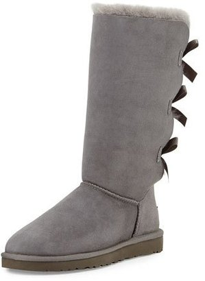 UGG Bailey Tall Bow-Back Boot $250 thestylecure.com