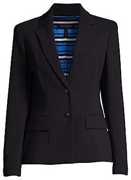 Escada Women's Baylo2 Two-Button Wool-Blend Blazer
