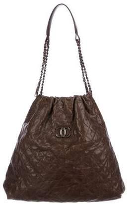 Chanel Elastic CC Shopping Tote