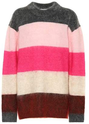 Acne Studios Exclusive to Mytheresa – Albah striped mohair-blend sweater