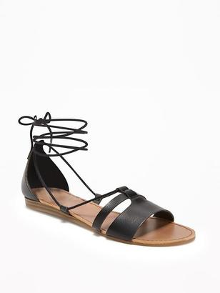 Lace-Up Sandals for Women $26.94 thestylecure.com