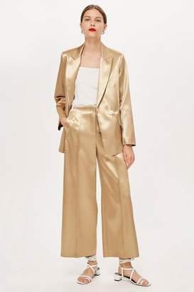 Topshop **MeTallic Culottes by Boutique