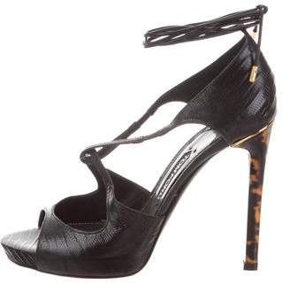 Tom Ford Even High-Heel Sandals w/ Tags