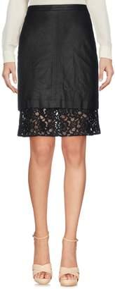 Sea Knee length skirts