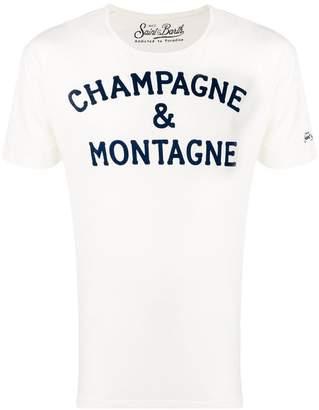 MC2 Saint Barth slogan print T-shirt