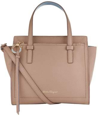 Salvatore Ferragamo Small Leather Amy Tote Bag