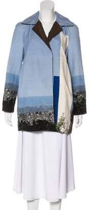 Akris Reversible Silk Coat w/ Tags