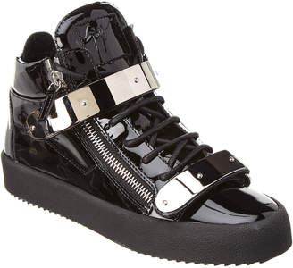 Giuseppe Zanotti Cody High-Top Leather Sneaker