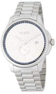 Gucci Stainless Steel Automatic Bracelet Watch