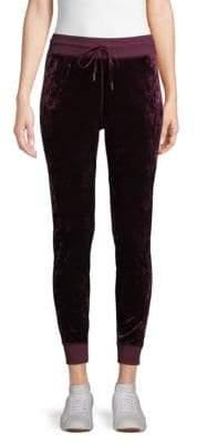 Classic Velvet Jogger Pants