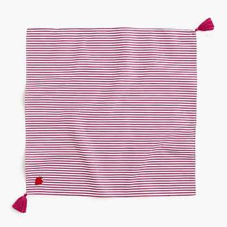 J.Crew Bandana scarf in strawberry stripe