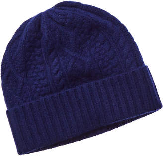 Qi Chunky Cable Cashmere Hat