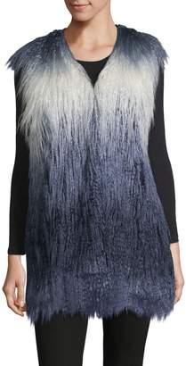 Furious Fur The Ethical Choice Shayna Faux Fur Long Vest