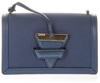 Loewe Barcelona Small Indigod Bag In Leather