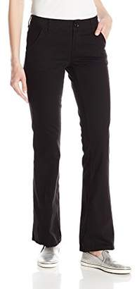 UNIONBAY Juniors Heather Slash Pocket Uniform Bootcut Pant